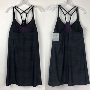 Athleta | Printed Coastline Strappy Swim Dress